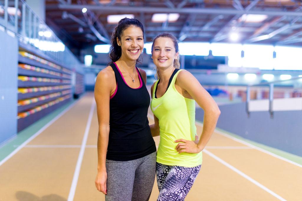 Anissa et Alexia sportifs 1