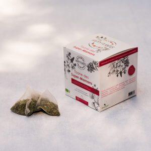 tisane à la menthe
