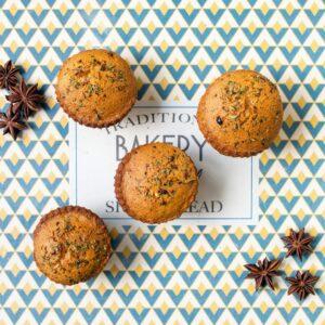 muffins à l'infusion